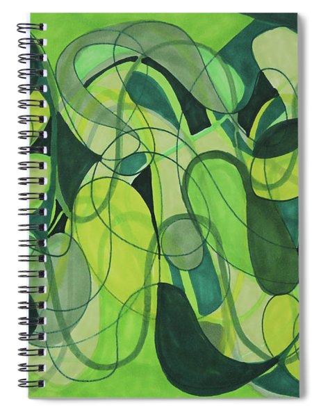 Beachy One Spiral Notebook
