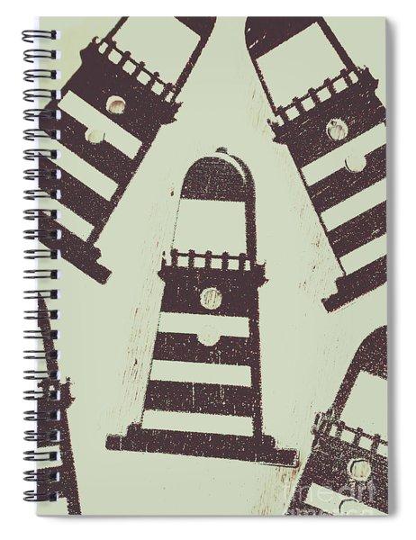 Beacon Buttons Spiral Notebook