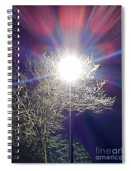 Beacon In The Night Spiral Notebook