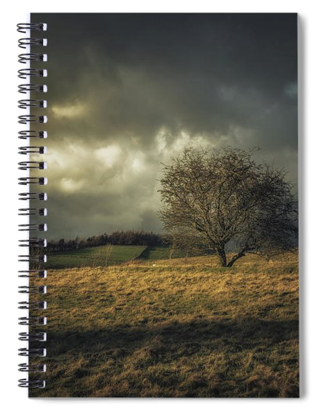 Beacon In The Storm Spiral Notebook