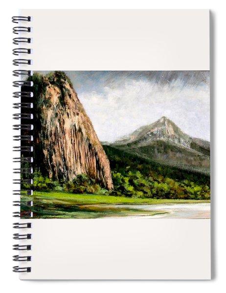 Beacon Rock Washington Spiral Notebook