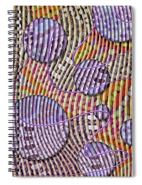 Bead Spumps Spiral Notebook