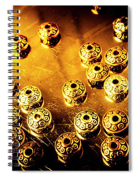 Beads From Another Universe Spiral Notebook