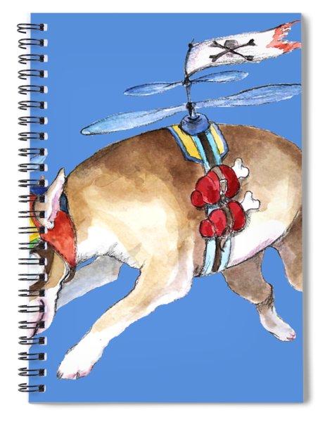 Beanie Bully  Spiral Notebook