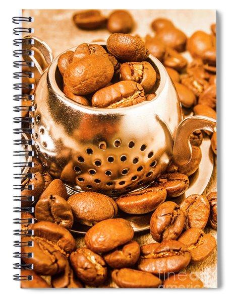 Beans The Little Teapot Spiral Notebook