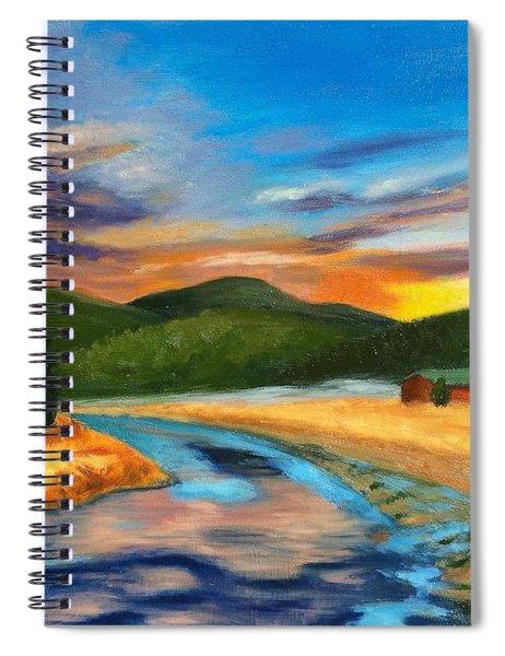 Bear Creek Colorado Spiral Notebook