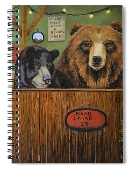 Bear Lodge 28 Spiral Notebook