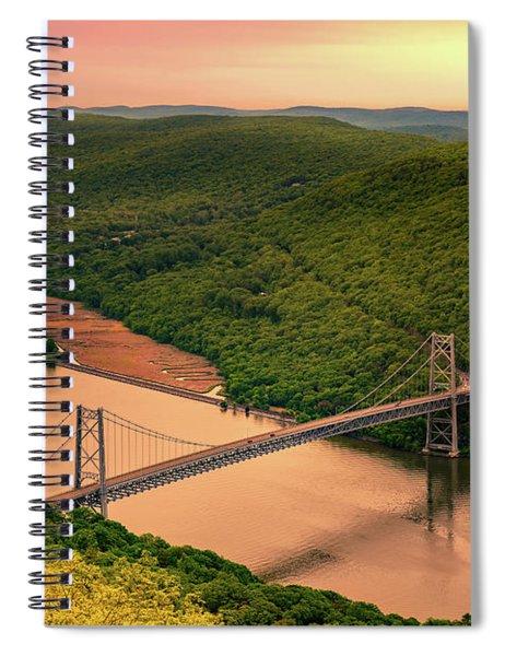 Bear Mountain Bridge Spiral Notebook
