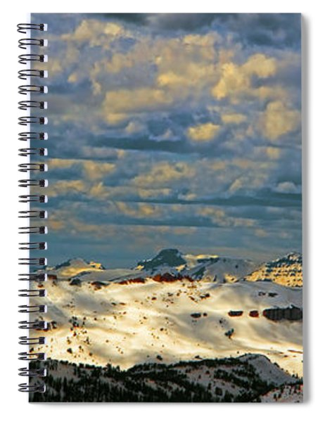 Bear Tooth Mountain Range Spiral Notebook