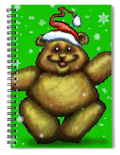 Bearry Christmas Spiral Notebook