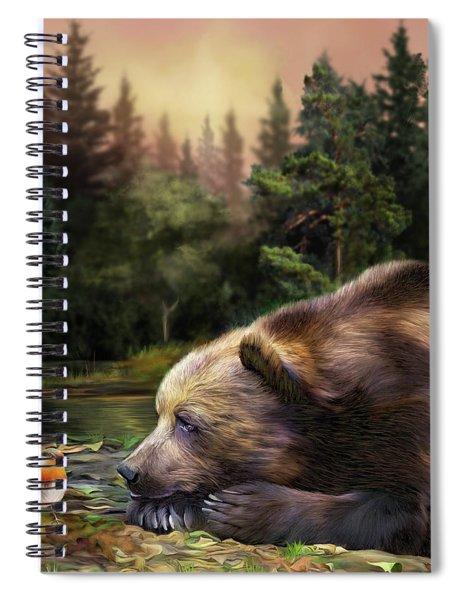 Bear's Eye View Spiral Notebook