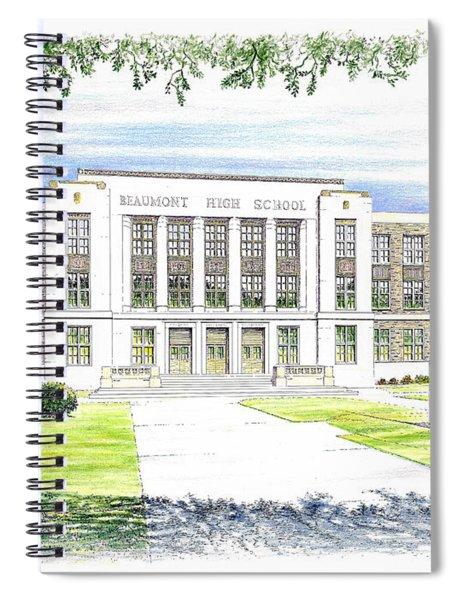 Beaumont High School Spiral Notebook