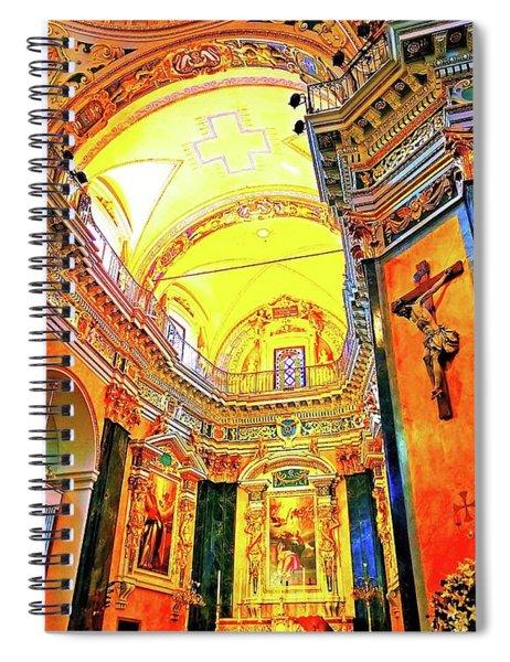 Beautiful Church In Nizza Spiral Notebook