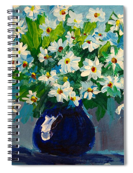 Beautiful Daisies  Spiral Notebook