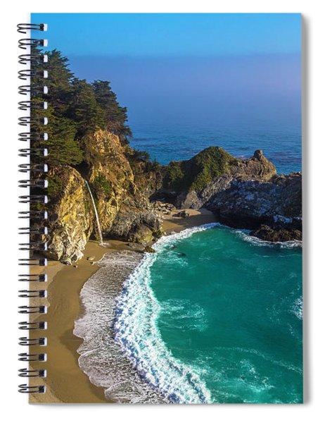 Beautiful Mcway Falls Cove Spiral Notebook