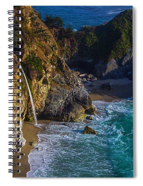 Beautiful Mcway Falls Spiral Notebook