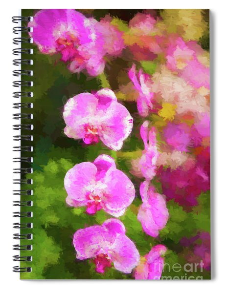 Beautiful Orchids Spiral Notebook