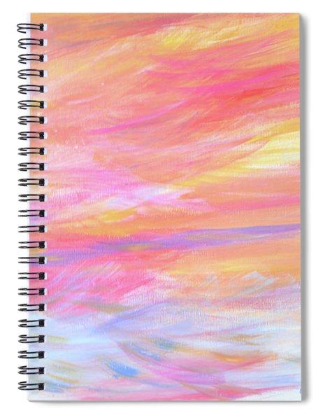 Beautiful Possibilities - Contemporary Art Spiral Notebook