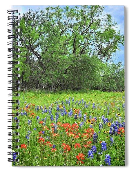 Beautiful Texas Spring Spiral Notebook
