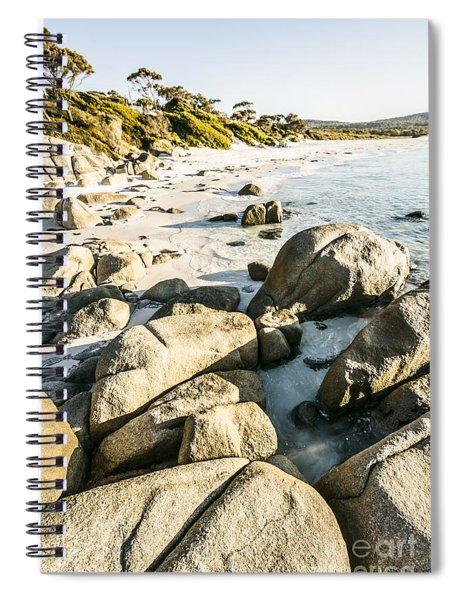 Beautiful Untouched Seaside Spiral Notebook