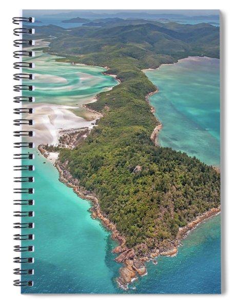 Beautiful Whitsundays Spiral Notebook