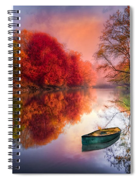 Beauty At The Lake Spiral Notebook