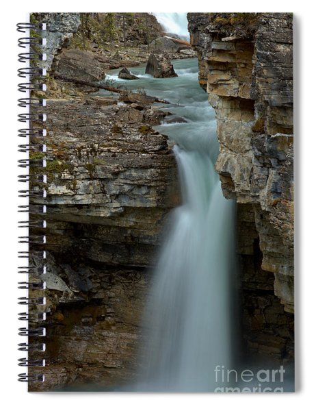 Beauty Creek Blue Falls Spiral Notebook