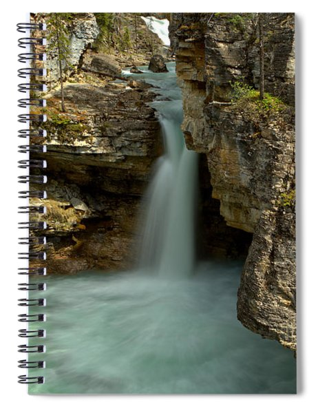 Beauty Creek Canyon Falls Spiral Notebook