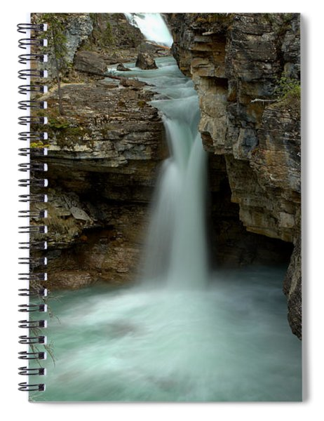 Beauty Creek Hidden Waterfall Canyon Spiral Notebook