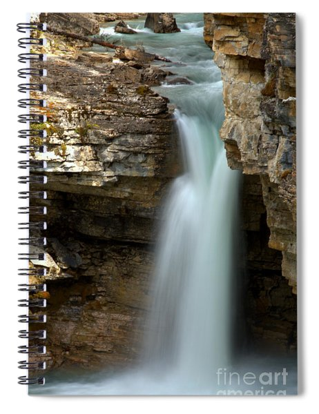 Beauty Creek Stanley Falls Spiral Notebook
