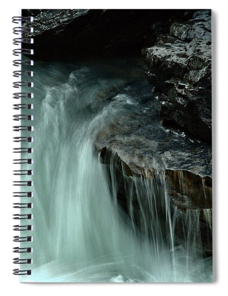 Beauty Creek Streaming Over The Edge Spiral Notebook