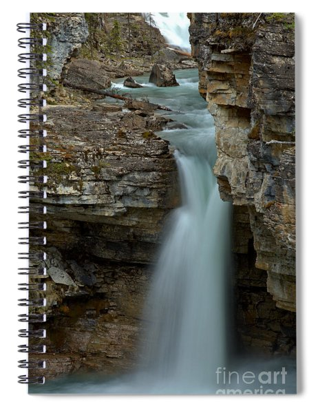 Beauty Creek Streams Od Blue Spiral Notebook