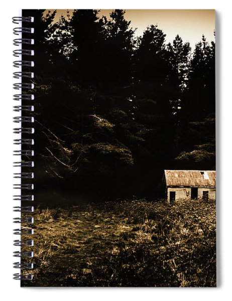 Beauty In Dilapidation Spiral Notebook