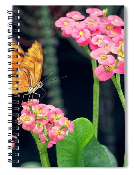 Beauty In Motion Spiral Notebook by Garvin Hunter