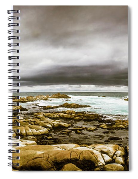 Beauty In Oceanic Drama Spiral Notebook