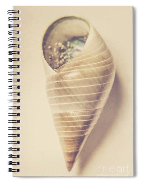 Beauty In Oceanic Symmetry Spiral Notebook