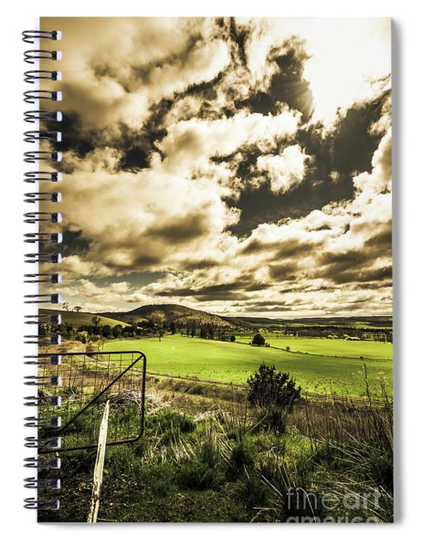 Beauty In Plain Contrast Spiral Notebook