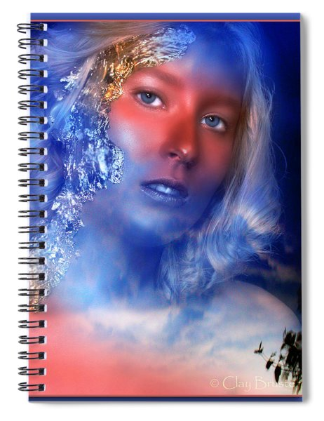 Beauty In The Clouds Spiral Notebook