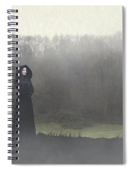 Beauty In The Fog Spiral Notebook