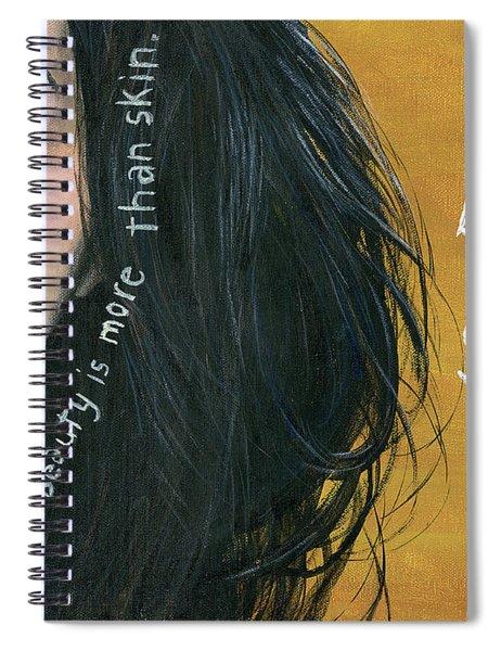 Beauty Is Soul Spiral Notebook