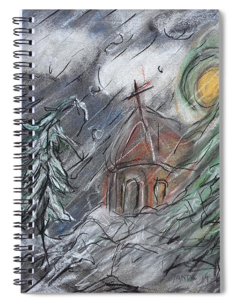 Beauty Of Winter Spiral Notebook