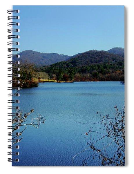 Beaver Lake View Spiral Notebook
