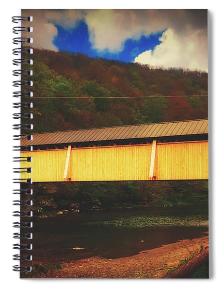 Beaverkill Covered Bridge Spiral Notebook