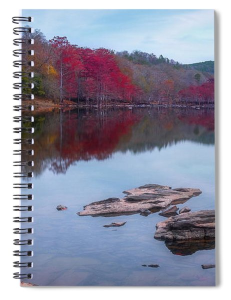 Spiral Notebook featuring the photograph Beavers Bend State Park by Robert Bellomy