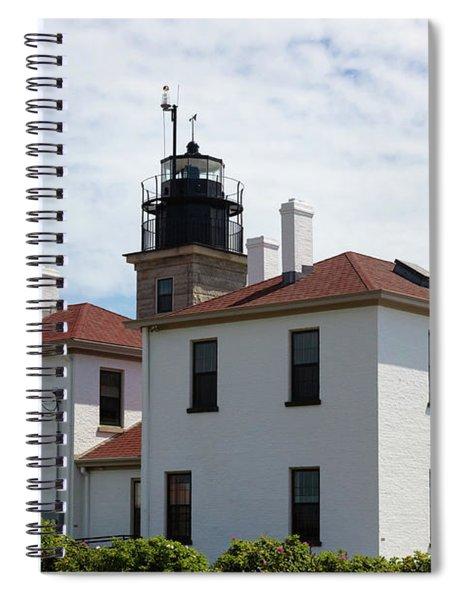 Beavertail Light Rhode Island Spiral Notebook