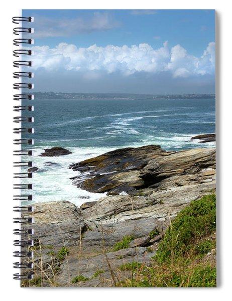 Beavertail Point Jamestown Rhode Island Spiral Notebook
