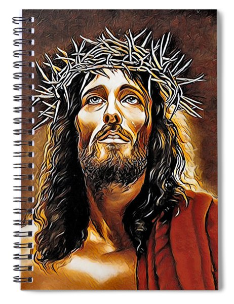Because He Loves You Spiral Notebook