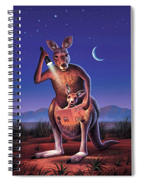 Bedtime For Joey Spiral Notebook
