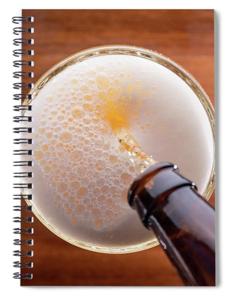 Beer Pour Spiral Notebook