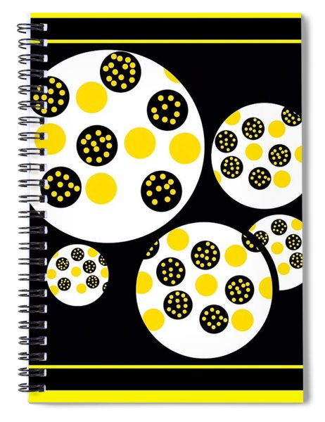 Bees Traveling Beyond Us Spiral Notebook